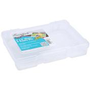ArtBin Photo & Supply Box-17cm x 12cm X1.60cm Translucent