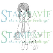 Stampavie Anne Cresci Clear Stamp-Yolene, 9.8cm
