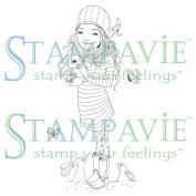 Stampavie Anne Cresci Clear Stamp-Marion, 9.5cm