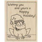 Inky Antics Mounted Stamps-Hoopy Holiday Frog
