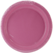 Creative Converting 192610 Candy Pink- Hot Pink Dinner Plates