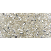 Glass Seed Beads 35ml/Pkg-Pearl Round