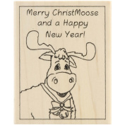 Inky Antics Mounted Stamps-Merry Christmoose