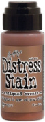 Tim Holtz Distress Stain 30ml-Antique Bronze - Metallic