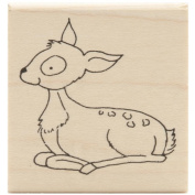 Inky Antics Mounted Stamps-Sitting Fawn