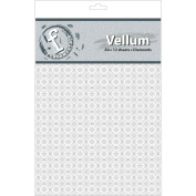 Ruby Rock-It FV32 Fundamentals A4 Vellum Sheets 11.7 in. x 8.3 in. 12-Pkg-Diamonds