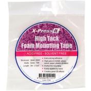 """X-Press It High Tack Foam Mounting Tape-1/4"""""""