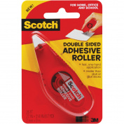 Scotch Double-Sided Adhesive Roller-.70cm X8.7yd