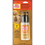 Plaid Mod Podge CS11290 60ml Dimensional Magic, Glitter Gold