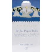 Tissue Paper Bell 23cm 2/Pkg-White