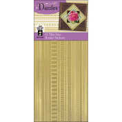 Dazzles Stickers -63 Thin Lines Gold