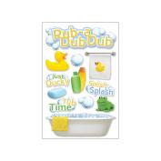 Paper House 3D Stickers-Rub-A-Dub-Dub