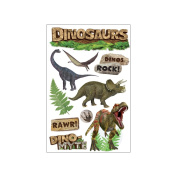 Paper House 3D Stickers-Dinosaurs
