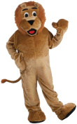 Lion Mascot Adult Halloween Costume, Size