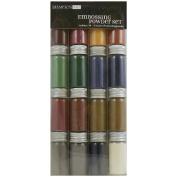 Embossing Powder 16 0ml Jars-Metal/Pearl