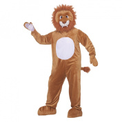 Leo the Lion Mascot Adult Halloween Costume, Size