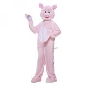 Pig Mascot Adult Halloween Costume, Size