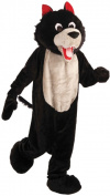 Wolf Mascot Adult Halloween Costume, Size