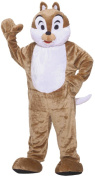Chipmunk Mascot Adult Halloween Costume, Size