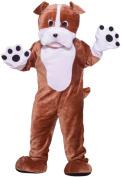 Bulldog Mascot Adult Halloween Costume, Size
