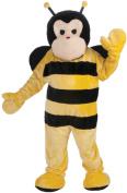Bee Mascot Adult Halloween Costume, Size