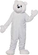 Forum Novelties 195706 Polar Bear Plush Economy Mascot Adult Costume