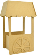 Beyond The Page MDF Small Candy Cart, 28cm x 17cm x 10cm
