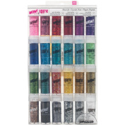 American Crafts Wow! Glitter and Spark! Tinsel Set, 24/pkg