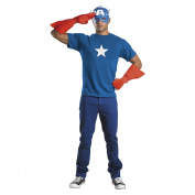 Costumes For All Occasions DG23435 Captain America Kit Adult