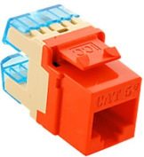 ICC IC1078F5OR MODULE CAT 5e HD, ORANGE