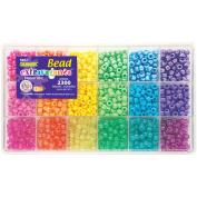The Beadery Giant Bead Kit 2300 Beads/Pkg Brights