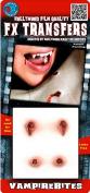 Vampire Bites Small 3D FX Tattoos Halloween Accessory