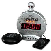 Sonic Bomb SA-SBS550BC The Skull MP3-i-Pod Alarm withShaker