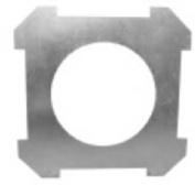 In-Ceiling Bracket for 8 in. Speaker - Pair -
