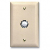 Viking Electronics VK-DB-40-WH Door Bell Button Panel
