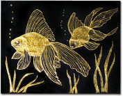 Melissa and Doug 8013 Scratch Art Paper - Gold & Silver Foil with stylus - 10 sheets