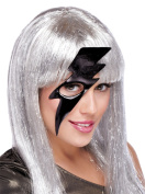 Costumes For All Occasions PM641004 Lightning Bolt Mask Black