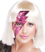 Costumes For All Occasions PM651087 Lightning Bolt Mask Hot Pink