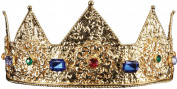 Ladies Gold Crown Adult Halloween Accessory