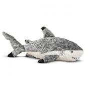 Melissa and Doug 15'' Plush Finn The Shark Stuffed Animal