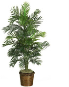 1.4m Areca Palm Silk Tree with Basket