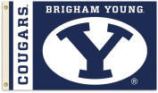 BSI Products 95083 Brigham Young Cougars- 3 ft. X 5 ft. Flag W-Grommets