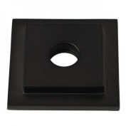 Kingston Brass FLSQUARE5 Heavy Duty Square Solid Cast Brass Shower Flange, Oil Rubbed Bronze