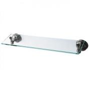 Kingston Brass BA1169BK Water Onyx Glass Shelf Black Nickel