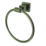 Kingston Brass BAH8644SN Claremont Towel Ring, Satin Nickel