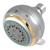 Kingston Brass KX1658 Designer Trimscape Showerscape Fixed Shower Head, Satin Nickel