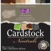 Core'dinations Core Essentials Cardstock Pad 30cm x 30cm 30/Pkg-Neutrals