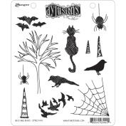 Ranger DYR-34414 Dyan Reaveleys Dylusions Cling Stamp Collection-Bits & Bats