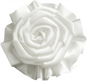 Fluerettes Rose Flower, White