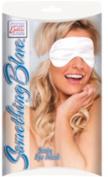 Sale Items Something Blue Satin Eye Mask